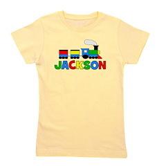TRAIN - Personalized JACKSON Girl's Tee