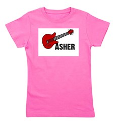 guitar_asher.png Girl's Tee