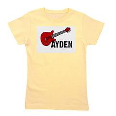 guitar_ayden.png Girl's Tee