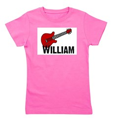 guitar_william.jpg Girl's Tee