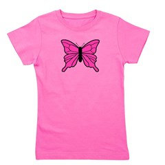 butterfly_TR.png Girl's Tee