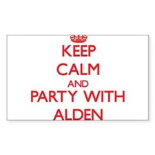 Keep Calm and Party with Alden Decal