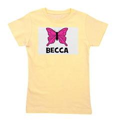 butterfly_BECCA.jpg Girl's Tee