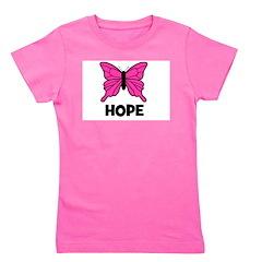 butterfly_HOPE.jpg Girl's Tee