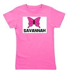 butterfly_SAVANNAH.jpg Girl's Tee