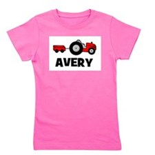 tractor_avery.png Girl's Tee
