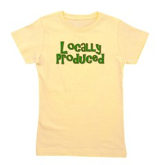 2-locallyproduced.png Girl's Tee