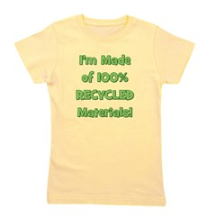 immadeof100recycledmaterials_TR.png Girl's Tee