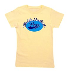 Worlds Greatest Pap Girl's Tee