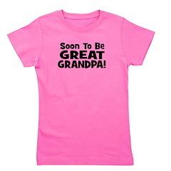 soontobegreatgrandpa_black.png Girl's Tee