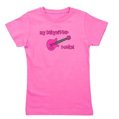 mybabysitterrocks_pink.png Girl's Tee