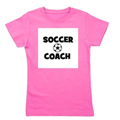 soccercoach.png Girl's Tee