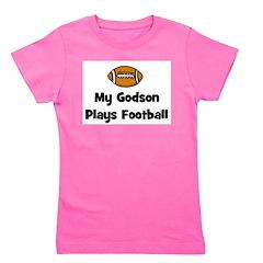 godsonplaysfootball.png Girl's Tee