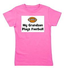 grandsonplaysfootball.png Girl's Tee