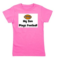 sonplaysfootball.png Girl's Tee