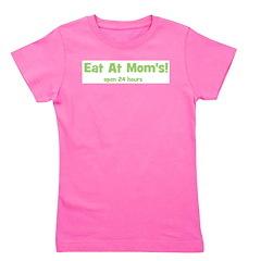 eatatmomsopen24hours_green.png Girl's Tee