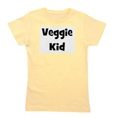 veggiekid_black.png Girl's Tee