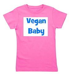 veganbaby_blue.jpg Girl's Tee