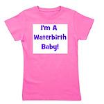 waterbirthbaby_blue.jpg Girl's Tee