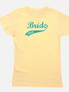 bride_turq.png Girl's Tee