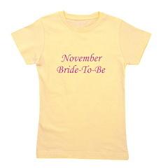 novemberbridetobe_TR.png Girl's Tee