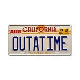 Back to future License Plates