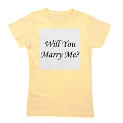 willyoumarryme_TR.png Girl's Tee