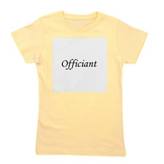 officiant_black.png Girl's Tee
