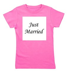 justmarried_black.png Girl's Tee