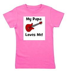 guitar_mypapalovesme.jpg Girl's Tee