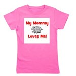 elephant_mymommylovesme.png Girl's Tee