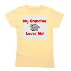 elephant_mygrandmalovesme.png Girl's Tee