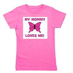 butterfly_mymommylovesme.jpg Girl's Tee