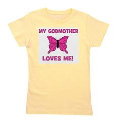 butterfly_mygodmotherlovesme.jpg Girl's Tee