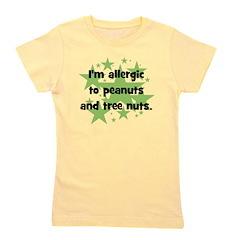allergictopeanutsandtreenuts.png Girl's Tee