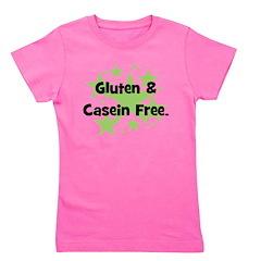 glutencaseinfree_greenstars.png Girl's Tee