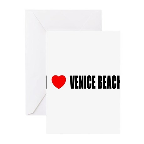 I Love Venice Beach, Californ Greeting Cards (Pack