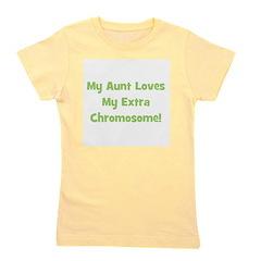 myauntlovesmyextrachromosome_green.png Girl's Tee