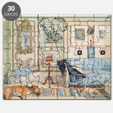 Cozy Corner by Carl Larsson Puzzle