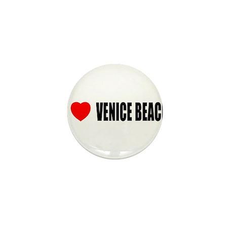I Love Venice Beach, Californ Mini Button (10 pack