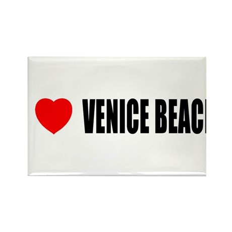 I Love Venice Beach, Californ Rectangle Magnet (10