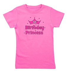ofthebirthdayprincess_50th.png Girl's Tee