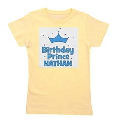 birthdayprince_NATHAN.png Girl's Tee