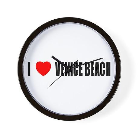 I Love Venice Beach, Californ Wall Clock