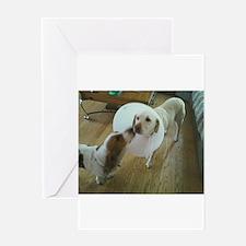 Sick Dog Greeting Card