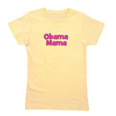 obamamama_pink.png Girl's Tee