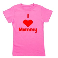 iheartmommy_red_TR.png Girl's Tee