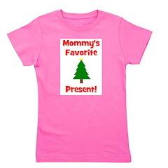 mommysfavoritepresent_wtree.png Girl's Tee