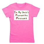 immyunclesfavoritepresent.png Girl's Tee