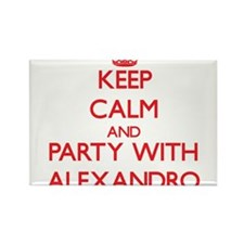 Keep Calm and Party with Alexandro Magnets